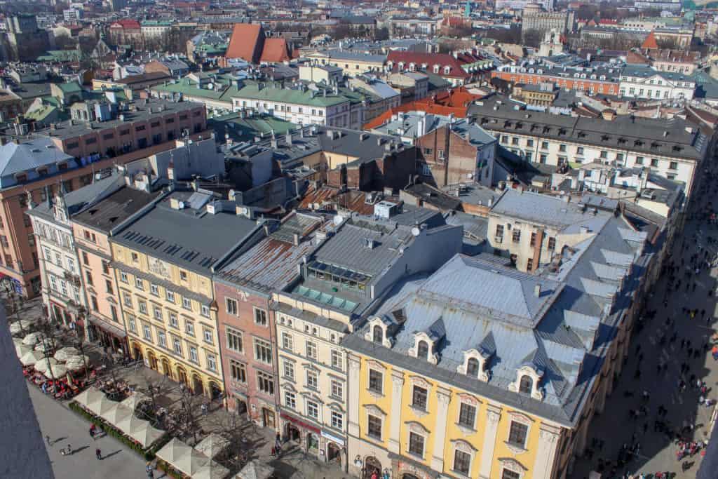 Le centre historique de Cracovie