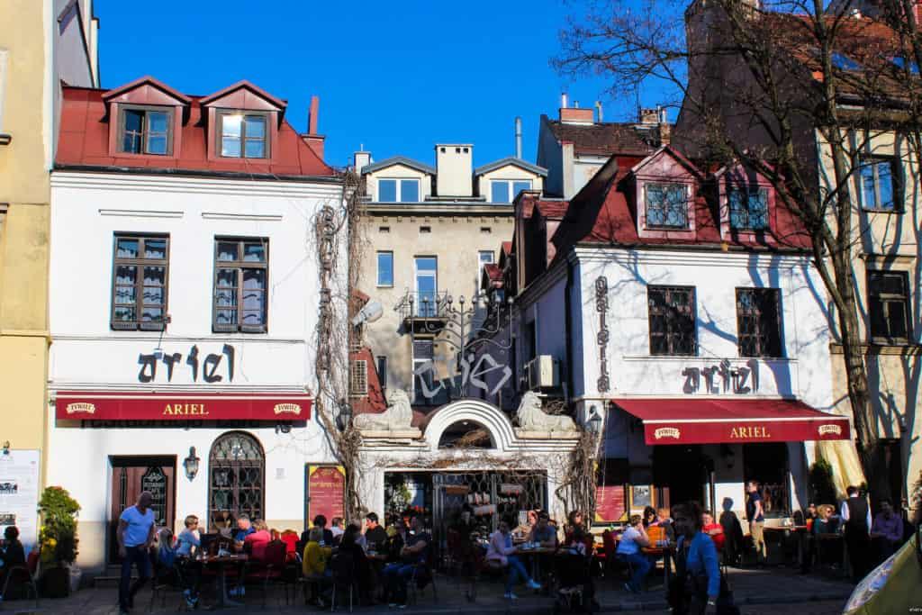 L'ancien ghetto juif de Cracovie