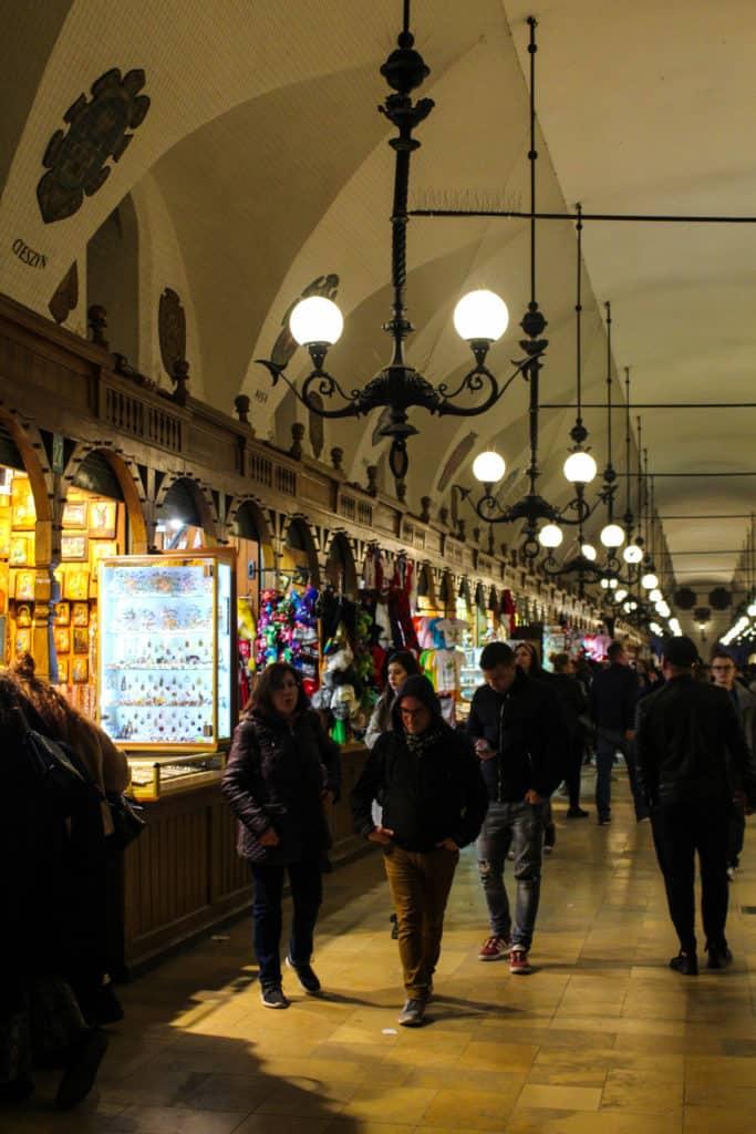 La halle aux draps de Cracovie
