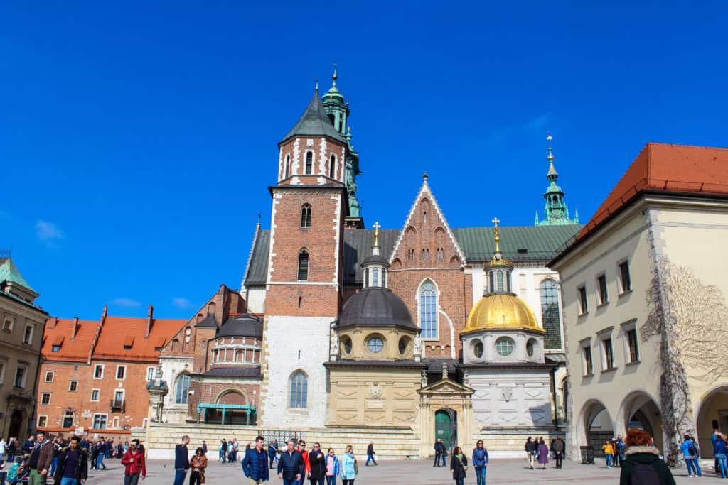 La colline du Wawel cracovie