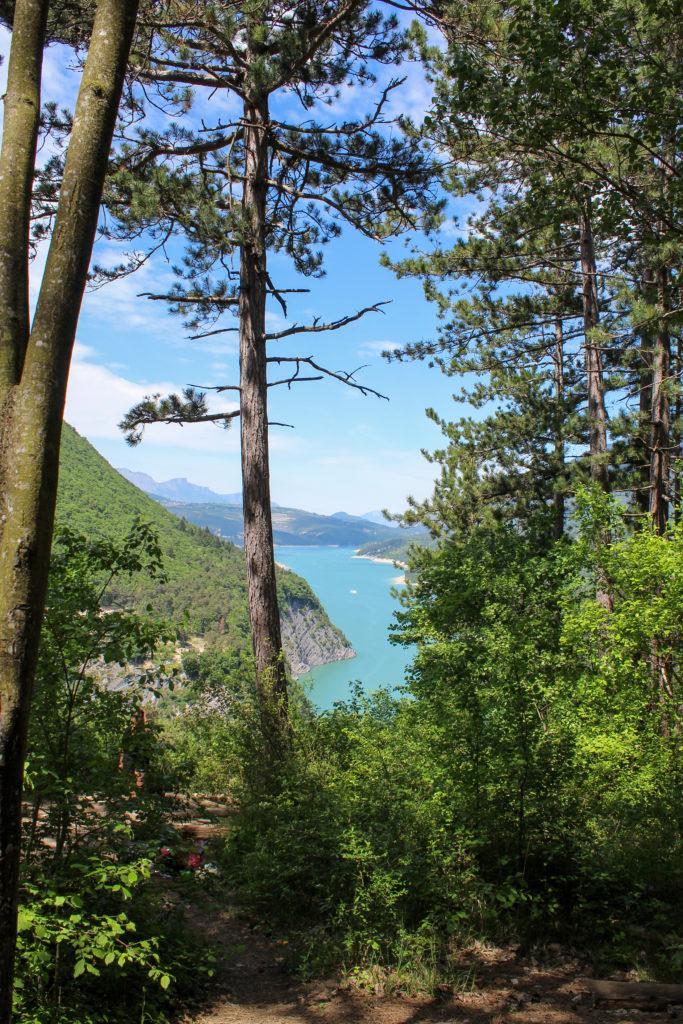 Randonnée lac du Monteynard
