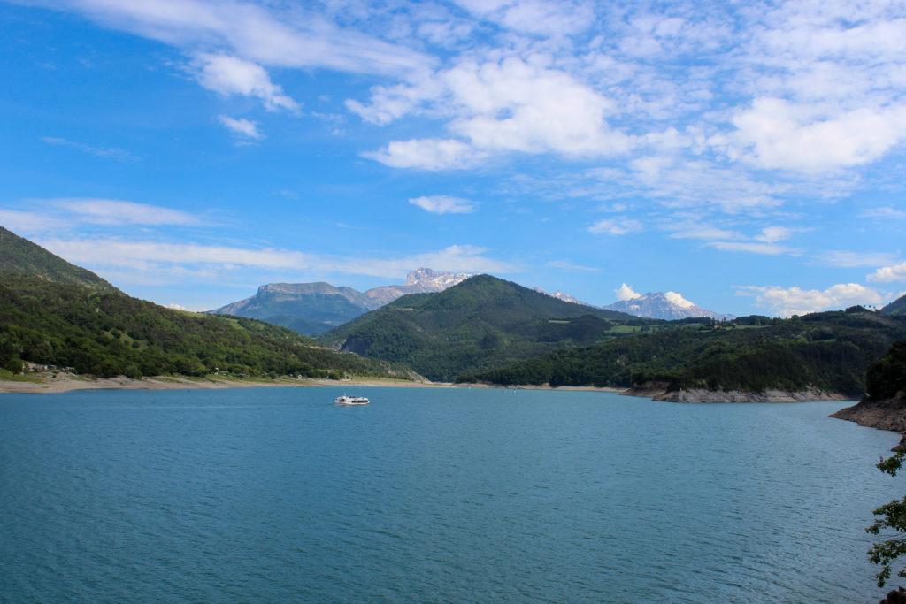 Passerelles lac du Monteynard