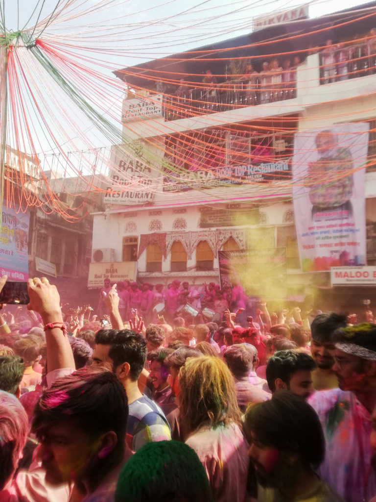 fête des couleurs Inde