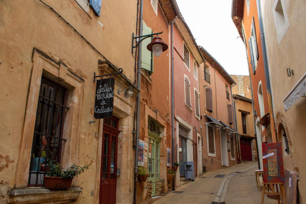 Visiter Roussillon