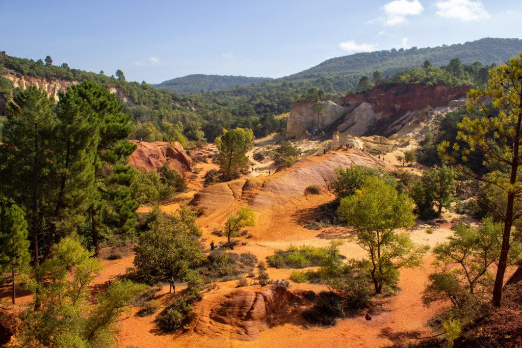 Le colorado provençal rustrel