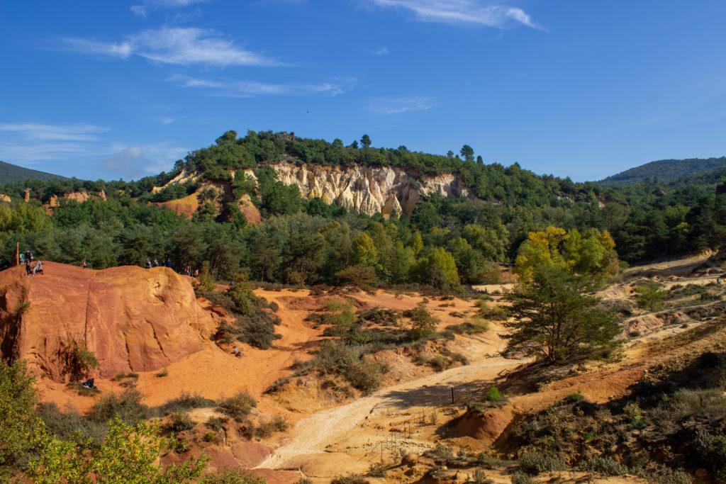 Le Colorado Provençal à Rustrel