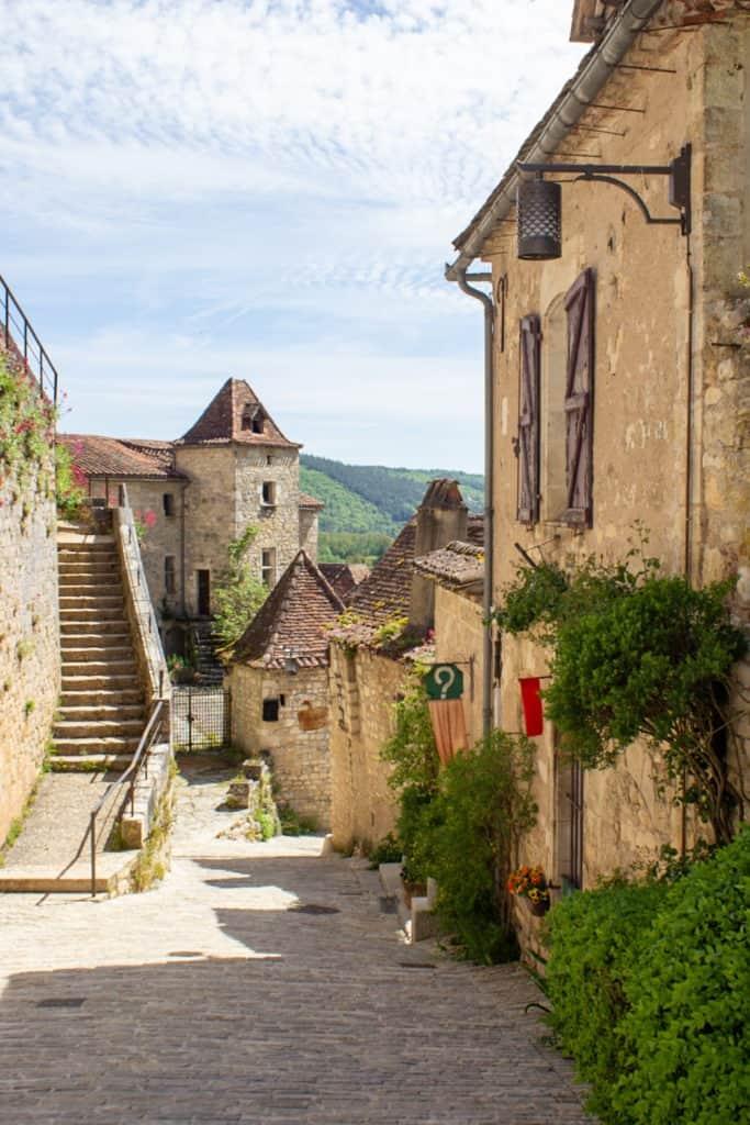 St Cirq Lapopie, plus beaux villages du Lot