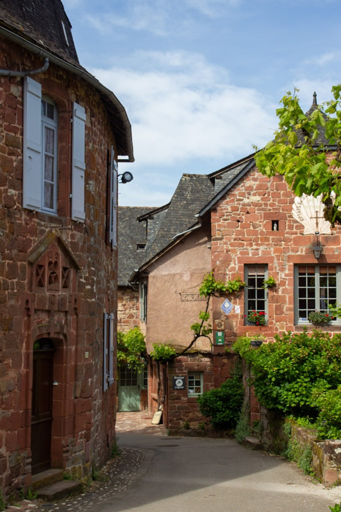 Collonges la Rouge, plus beaux villages de France